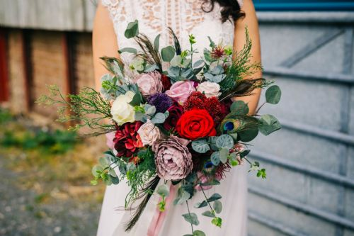 Berry Bloom Bridal Bouquet